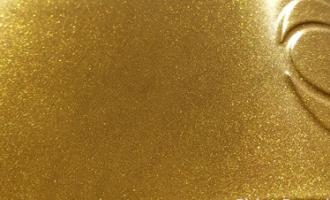 metallic gold powder coating