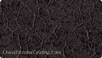 Crocodile Black -RAL9005 Crocodile powder PAINT
