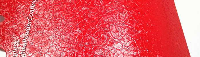 Crocodile Red -RAL3020 Crocodile powder coating