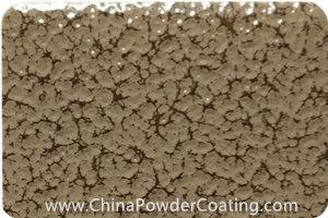 Beige Grey leaf vein powder coating