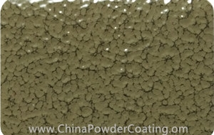 Olive Grey leaf vein powder coating