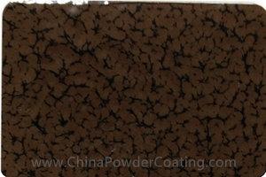 Chocolate Brown leaf vein powder coating