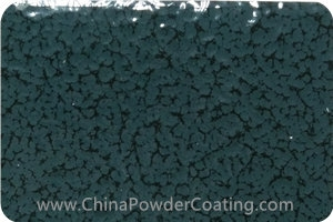 Granite Grey leaf vein powder coating