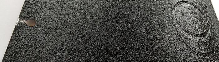 Negro RAL9005 / Efecto cuero / / PNM25410