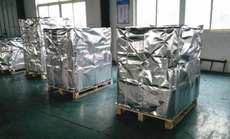 800-1000KG/ PLT Wrapped Silver Sheet