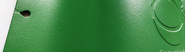 flat-sand-en61011s-green powder paint