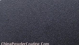 Black RAL9005 Sand