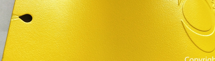 yellow-flat-sand-en11021s powder paint