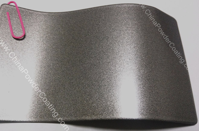 RAL9007 aluminum silver powder coating