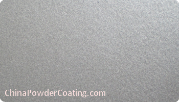 RAL9023 metallic silver powder coating