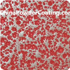 silver-red-powder-coating