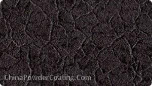 black crack wrinkle powder coating