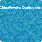 blue hammer powder coating