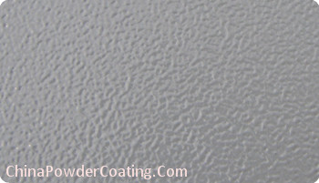 Grey Wrinkle Powder Coating