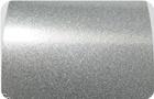 luster silver metallic powder coating