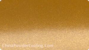 Orange Silver powder coating