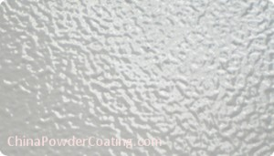 RAL 7035 powder coating