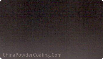 matt powder coating