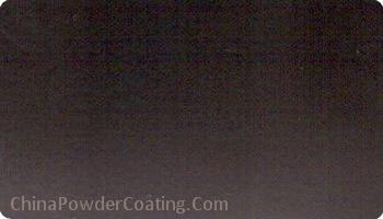 matt powder coating