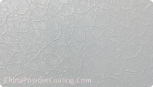 white crack wrinkle powder coating