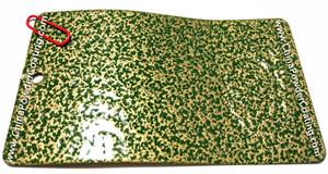 antique green gold powder coating