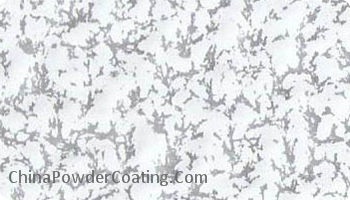 Antique Silver white powder coating