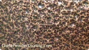 Antique copper powder paint