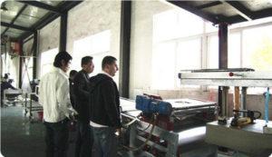 powder coating customers visting