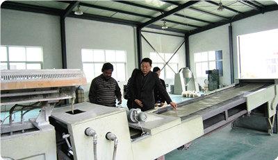 powder coating customers visiting