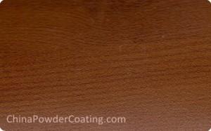 Wood grain finish powder coating-wood transfer printing powder coating