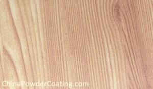 wood finish powder coating
