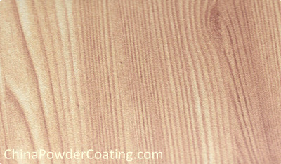 wood finish powder coating