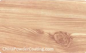 wood texture powder coating