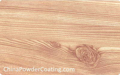 wood texture powder coating