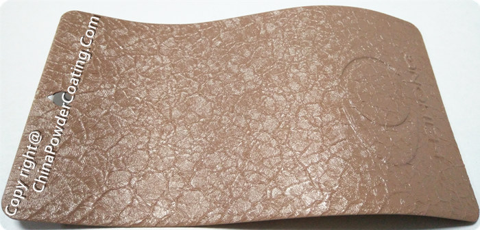 Brown Crocodile powder coating