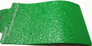 Green Crocodile Powder Coating