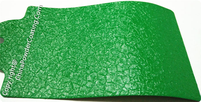 RAL6032 Green Crocodile Powder Coating