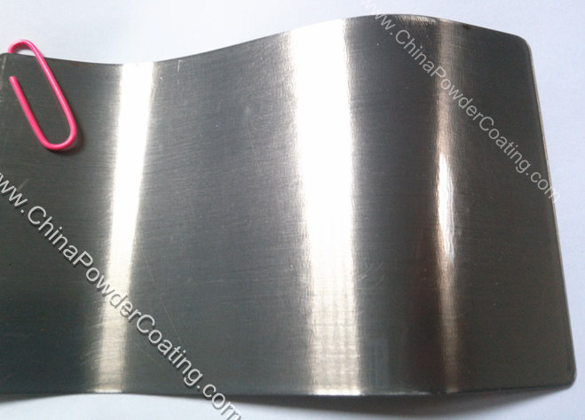 transparent clear powder coating