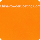candy light orange powder coating