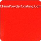 candy orange powder coating