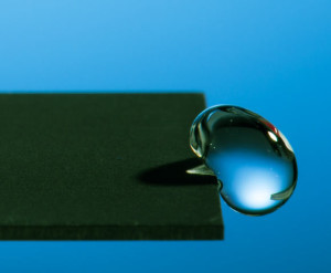 Super-Hydrophobic-Metal-Surfaces