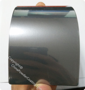 powder paint color chrome mirror