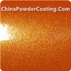 Candy Silver Powder coating