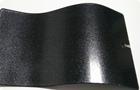 Silver black powder coating paint