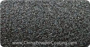Black Leather Tone powder coating