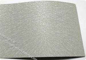 Grey Leather tone powder coating paint