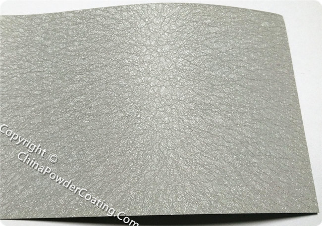Grey Leather Tone Powder Coating Powder Paint