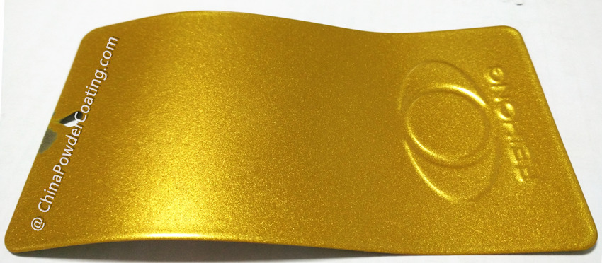 Super Gold Color Powder Coating