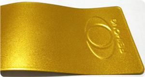 Super Gold Color powder coating colors