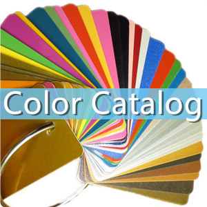 powder coating paint color catalog